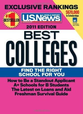 U.S. News & Report Best Colleges 2011