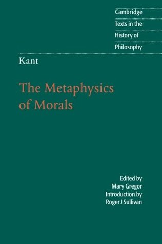 The Metaphysics of Morals