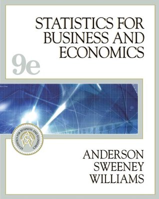Statistics for business and economics with cd rom and infotrac statistics for business and economics with cd rom and infotrac by david r anderson fandeluxe Images