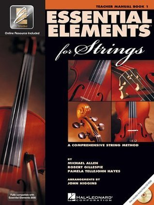 Essential Elements for Strings - Book 1 with EEi: Teacher's Manual