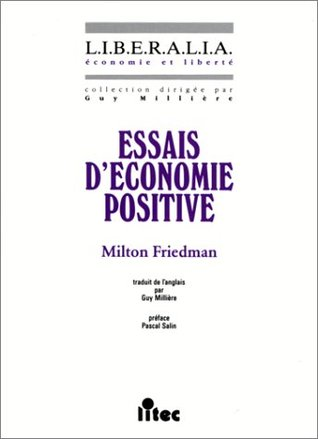 essays in positive economics by milton friedman