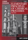 Student Workbook to accompany Elementary Principles of Chemical Processes