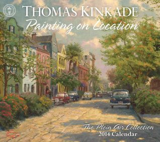 Thomas Kinkade Painting on Location 2014 Deluxe Wall Calendar: The Plein Air Collection