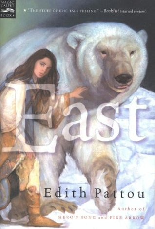 book cover: East, by Edith Pattou