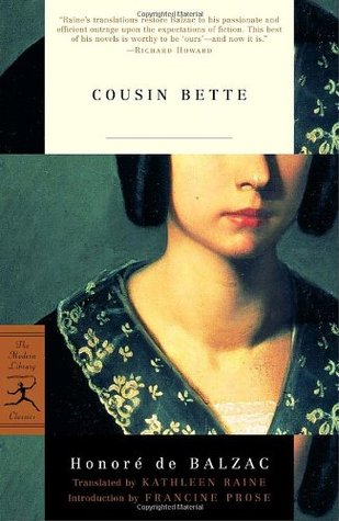 Cousin bette by honor de balzac 59144 fandeluxe