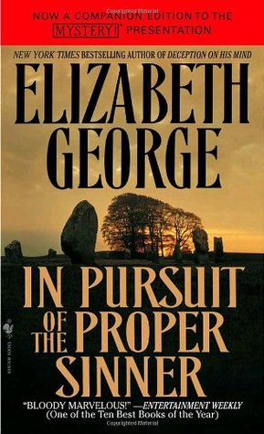 Book Review: Elizabeth George's In Pursuit of the Proper Sinner