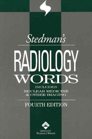 Stedman's Radiology Words