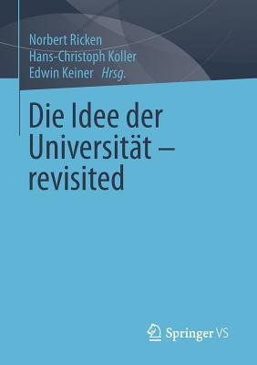 Die Idee Der Universitat - Revisited