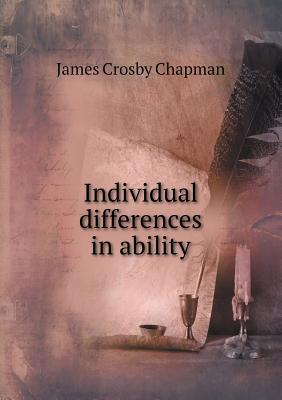 Individual Differences in Ability