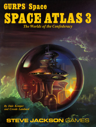 GURPS Space Atlas 3 : The Worlds of the Confederacy