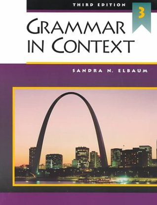 grammar in context Available in: paperback national geographic learning's best selling grammar series now has more of what works for students and teachers students.