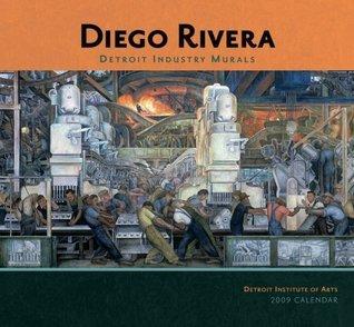 Diego Rivera Detroit Industry Murals 2009 Wall Calendar