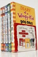 Diary of a Wimpy Kid: #1-4 & Do-It-Yourself Book