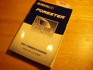 2001 Subaru Forester Owners Manual