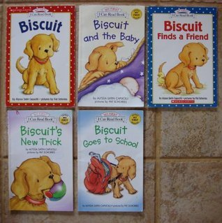 Biscuit: Set of 5 Books (Biscuit ~ Biscuit Finds a Friend ~ Biscuit's New Trick ~ Biscuit Goes to School ~ Biscuit and the Baby, My First I Can Read Books)