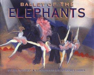 Ballet of the Elephants by Leda Schubert