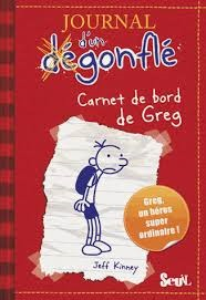 Journal d'un dégonflé, Tome 1 : Carnet de bord de Greg Heffley