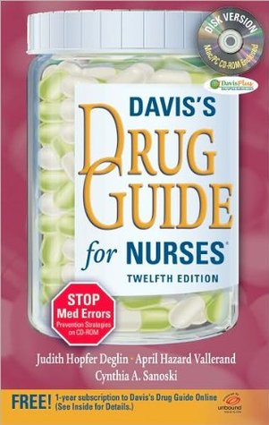 Davis's Drug Guide 12 edition (Davis's Drug Guide for Nurses with CD [Paperback])(2010)