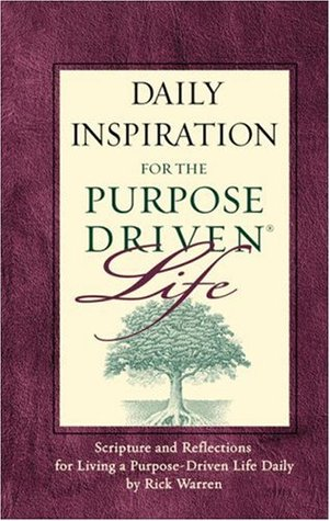 Download Daily Inspiration For The Purpose Driven Scripture And