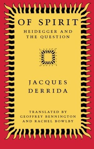 Of Spirit by Jacques Derrida