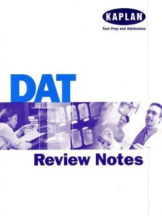 Kaplan DAT Review Notes