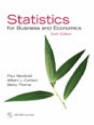 Statistics for Business and Economics [with Student CD]