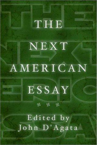 The Next American Essay by John D'Agata