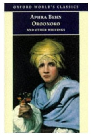 oroonoko and other writings by aphra behn 51189