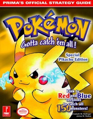Pokemon Yellow - Prima's Official Strategy Guide