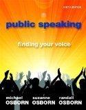 Public Speaking: Finding Your Voice 9th Edition by Osborn, Michael, Osborn, Suzanne, Osborn, Randall [Paperback]