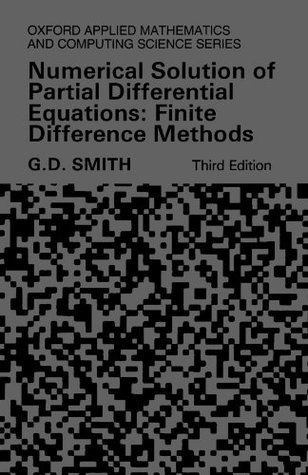 Numerical Methods for Partial Differential Equations - 1st ...