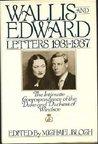 Wallis & Edward Letters 1931-37 by Edward Windsor