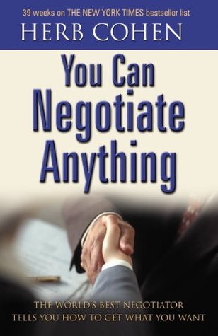 You Can Negotiate Anything Herb Cohen Pdf