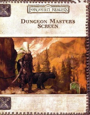 Dungeon Master's Screen (Dungeons & Dragons: Forgotten Realms, Campaign Accessory)