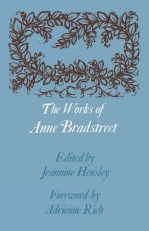 anne bradstreet the prologue meaning