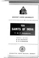 Ten Saints of India