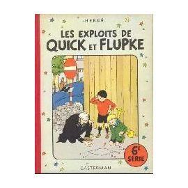 les exploits de Quick et Flupke 6e Série