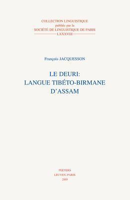 Le Deuri: Langue Tibeto-Birmane D'Assam