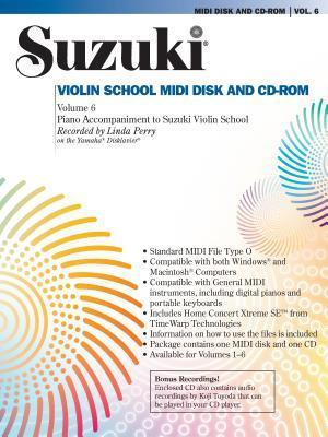 Suzuki Violin School, Vol 6: General MIDI Disk CD-ROM