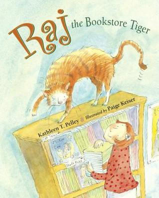 Raj the Bookstore Tiger