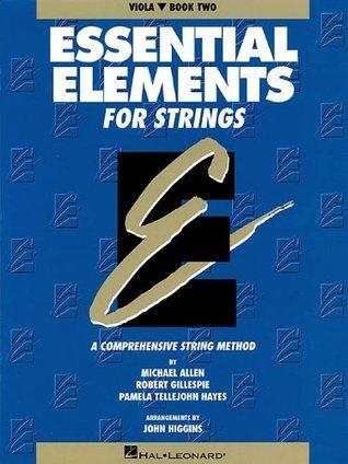 Essential Elements for Strings - Book 2 (Original Series): Viola