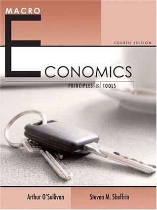 Macroeconomics: Principles and Tools