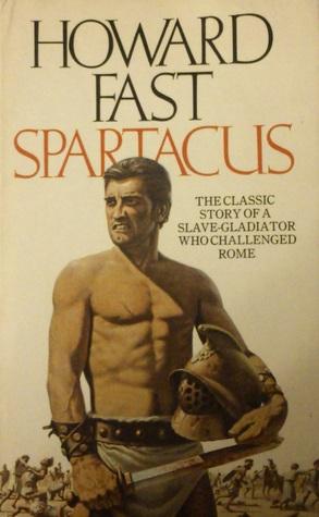 تصویری از جلد یک نمونه از رمانهایی که در رابطه با اسپارتاکوس نوشته شده است