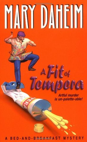 A Fit of Tempera(Bed-and-Breakfast Mysteries 6)