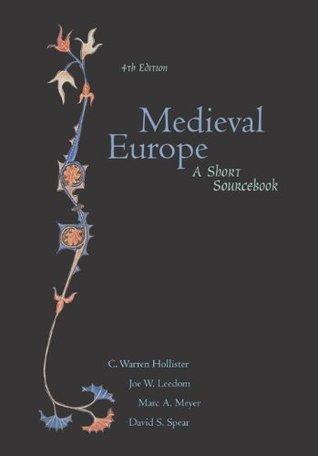 Medieval Europe: A Short Sourcebook