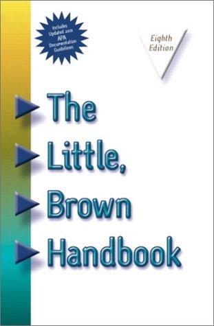 The Little, Brown Handbook, APA Update [with CD]
