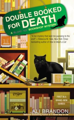 Double-Booked for Death (Black Cat Bookshop Mystery, #1)