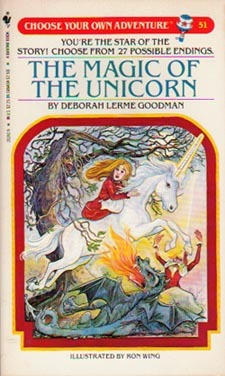 The Magic of the Unicorn (Choose Your Own Adventure, #51)