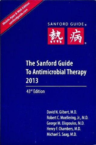 Sanford guide to antimicrobial therapy by david n gilbert sanford guide to antimicrobial therapy fandeluxe Gallery
