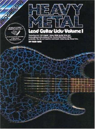 Progressive Heavy Metal Lead Guitar